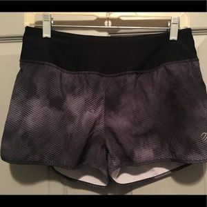 MPG women's running shorts.